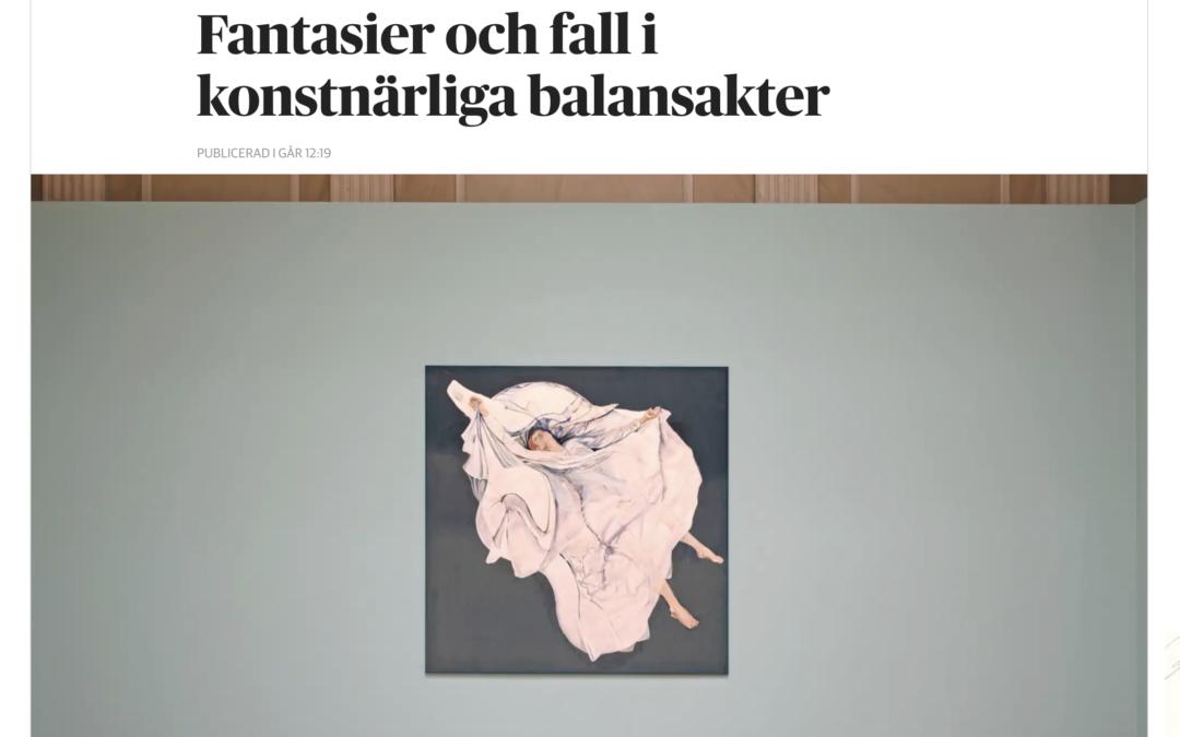 Konstrecension av utställningen Återsken på DN.SE